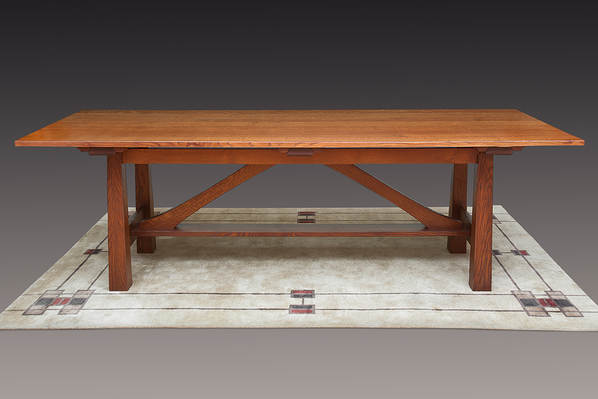 Hastings Quarter Sawn Oak Dining Table