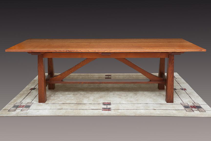 Hastings Quarter Sawn Oak Dining Table