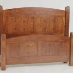 Acorn Quarter-Sawn Oak Bed