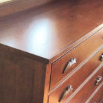 Custom Quarter-Sawn White Oak Dresser with Acorn & Oak Leaf Carvings
