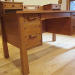 Custom Rosebud File Desk