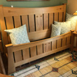 ​Glasgow Rose Quarter-Sawn Oak Bed