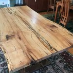 Spalted Maple Live-Edge Dining Table