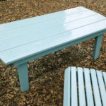 Outdoor Coffee Table Shaker Pine