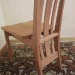 Cherry Rosebud Chair Back