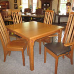 Rosebud Dining Set in Natural Cherry