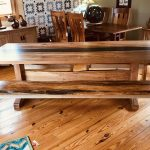 Spalted Maple River-Top Dining Table
