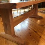 Spalted Maple River Table Edge