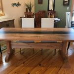 Spalted Maple River Table Entire