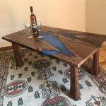 The Lakes Walnut Coffee Table