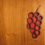 Vineyard Wine Cabinet Detail Red Grape