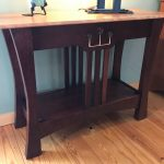 Glasgow Rose Cherry Console