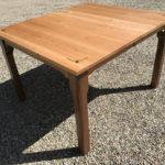 Custom cherry & walnut table