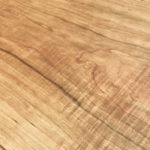 Rough Sawn Cherry Table Detail
