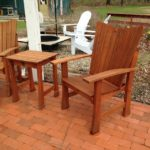 Mahogany Stag Run Outdoor Chair