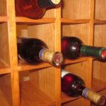 Vineyard Wine Cabinet Detail Cubbies