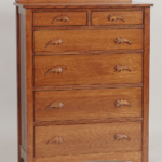 Acorn Quarter-Sawn Oak Chest of Drawers