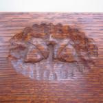 Acorn Dresser Carving