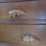 Center Of The World Acorn Dresser Detail
