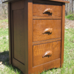 Acorn Quarter-Sawn Oak Nightstand