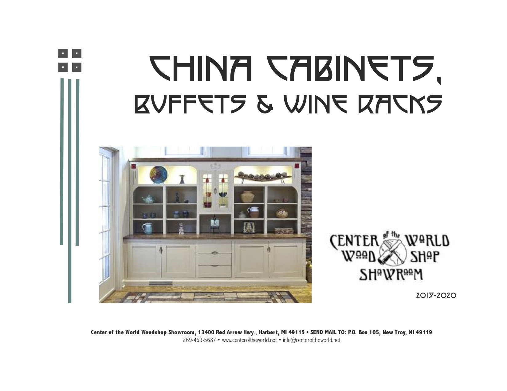 Buffet Cabinet Catalog Cover