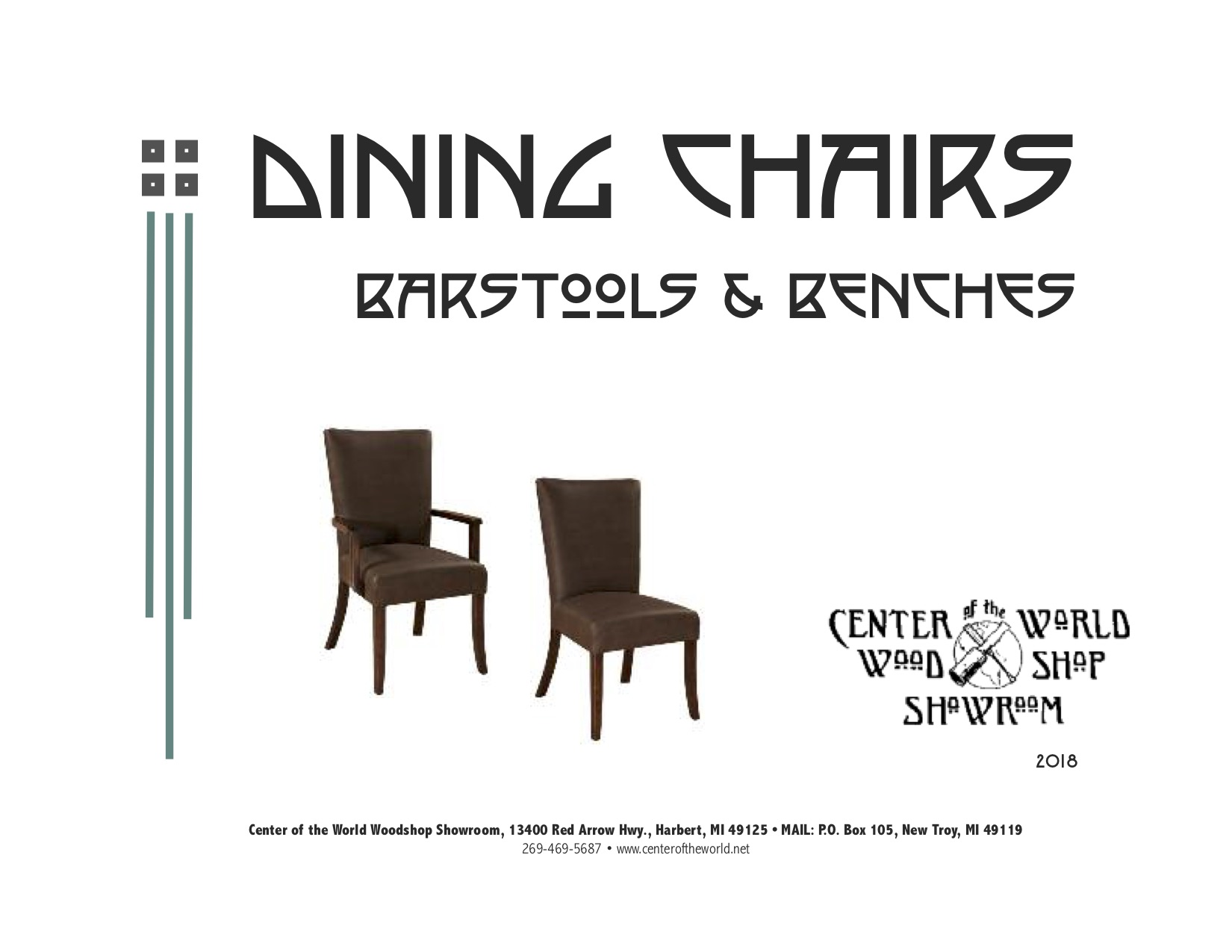Dining Chair Catalog Cover