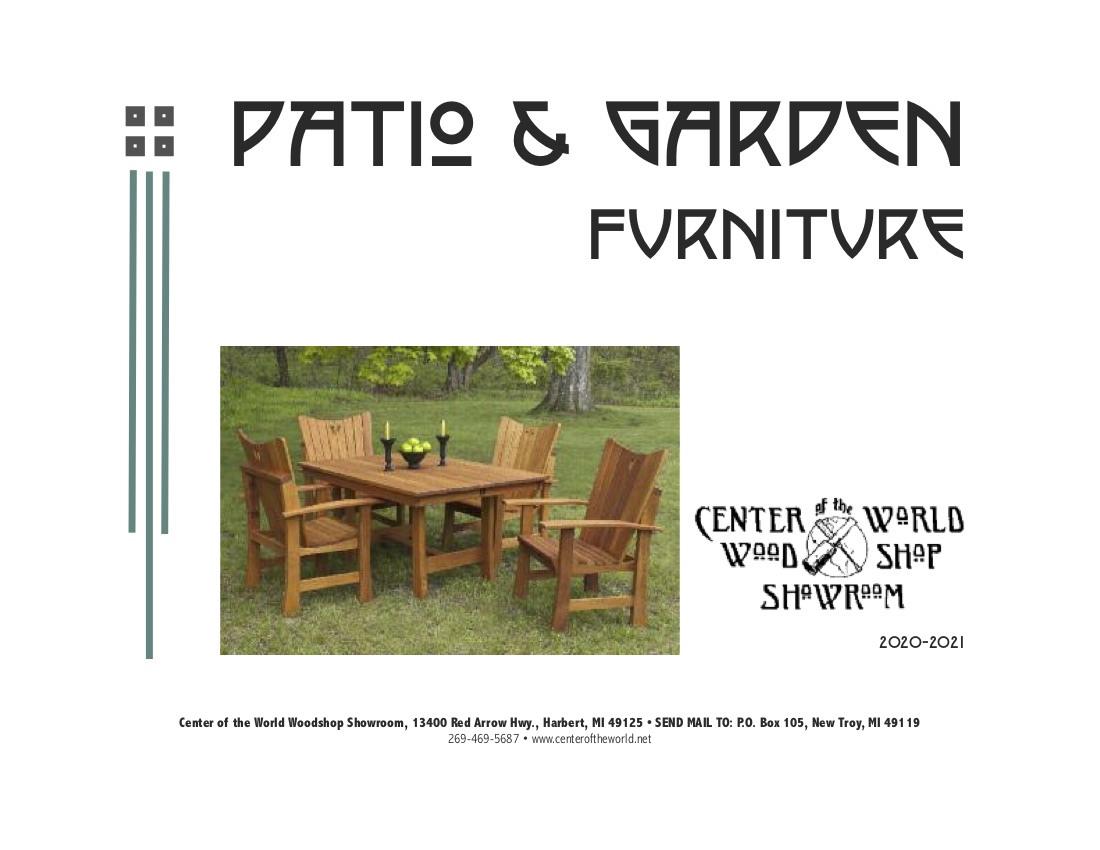 Outdoor Catalog Cover 2020