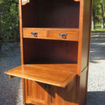 Custom Hutch with Turtle Inlays