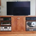 Cherry Stereo Cabinet Lr