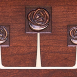 Glasgow Rose Console Detail