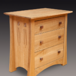 ​Glasgow Rose Quarter-Sawn Oak Nightstand