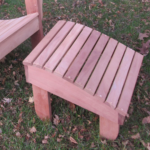 Silverback Mahogany Outdoor Footstool