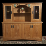 Skara Brae Cherry China Cabinet