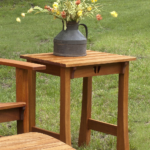 ​Stag Run Mahogany Outdoor Side Table